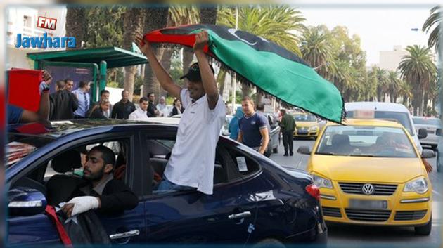 إرتفاع عدد الليبيين الوافدين على تونس