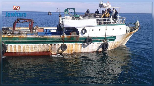  البحّارة المحتجزون في ليبيا في طريقهم إلى تونس