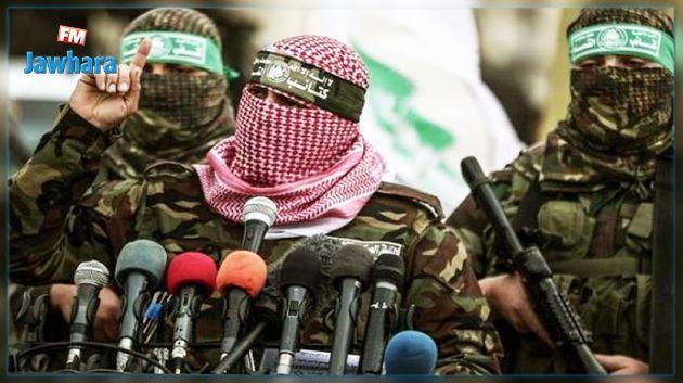 المضادات الأرضية التابعة لكتائب القسام تتصدى لطائرات الاحتلال في غزة