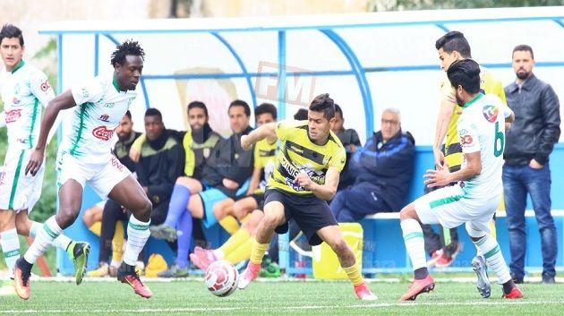 مباراة النادي البنزرتي و شبيبة القيروان