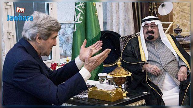 كيري : ملك سعودي طلب قصف إيران