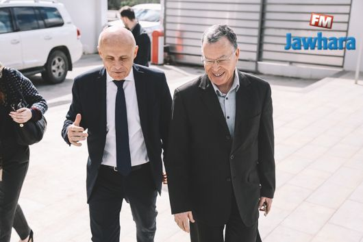 زيارة سفير فرنسا بتونس إلى مقر الجوهرة أف أم