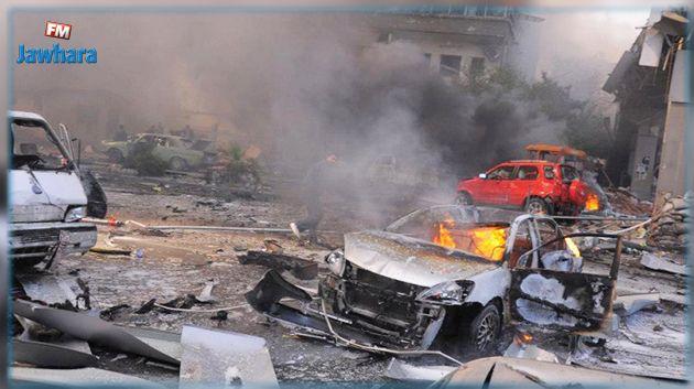 هجوم بسيارة مفخخة في ليبيا