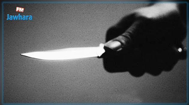قصور الساف : امرأة تعتدي على شقيقتها بسكين