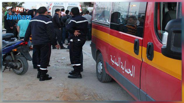 تالة : سيارة ليبية تدهس شخصين أمام معهد