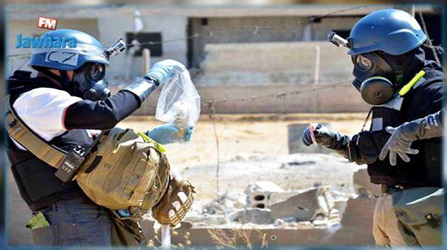 خبراء منظمة حظر الأسلحة الكيميائية يزورون دوما