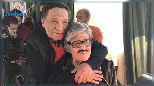 عادل إمام و سمير غانم يلتقيان في