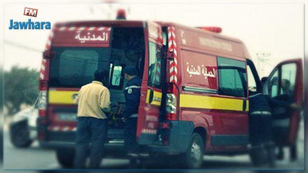 الوسلاتية : إصابة أم وإبنيها في حادث مرور