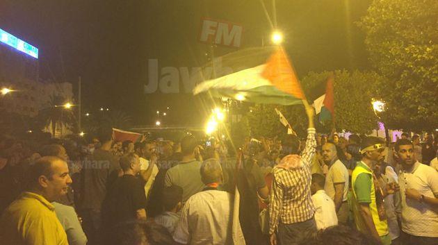 مسيرة بشارع الحبيب بورقيبة إحياءً ليوم القدس العالمي