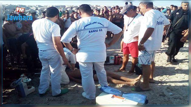 بنزرت : وفاة شاب غرقا بشاطئ كاب سيراط