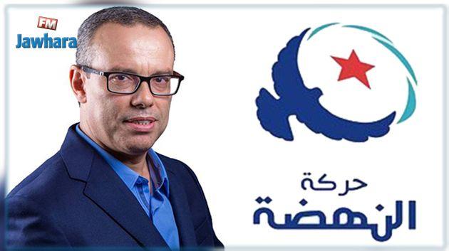 عماد الخميري يرد على راضية الجربي : النهضة متمسكة بموقفها