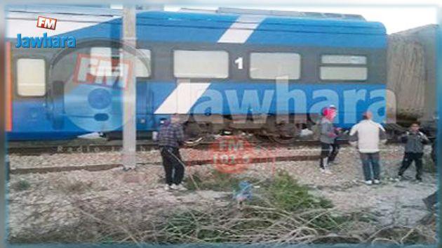قتيل في اصطدام قطار بسيارة في بوفيشة