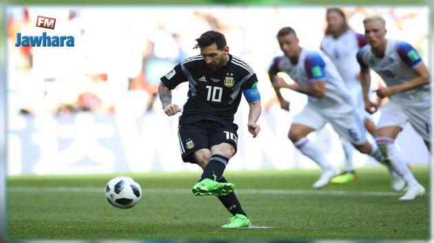 مونديال 2018 : إيسلندا تفرض التعادل على الأرجنتين