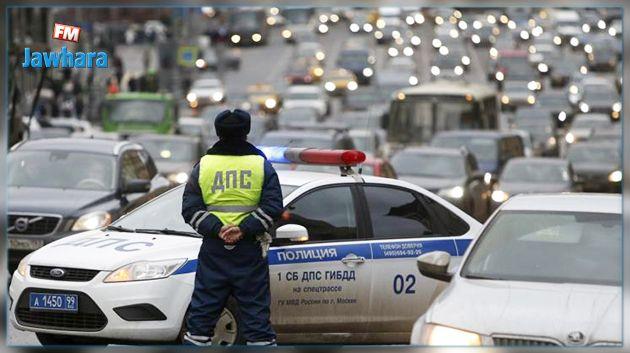 اصابة عدد من الأشخاص في حادث دهس بموسكو