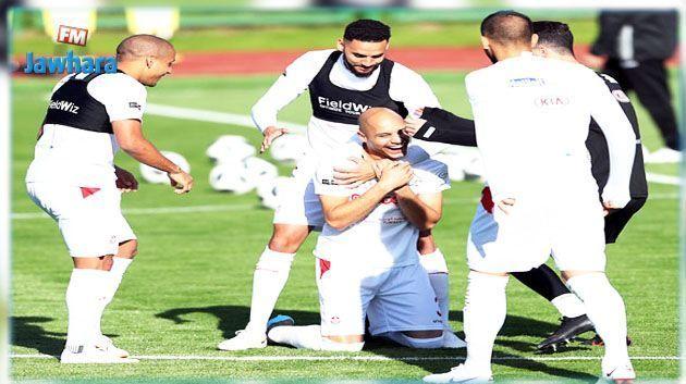 المنتخب الوطني يجري اخر حصة تدريبية قبل مواجهة إنقلترا