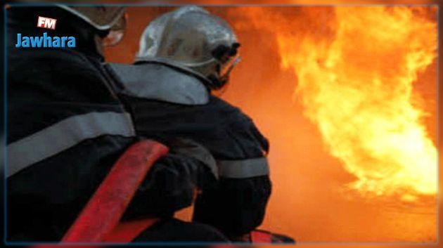 رفضت عائلته تمكينه من مبلغ مالي 'للحرقة' فأضرم النار في منزلهم