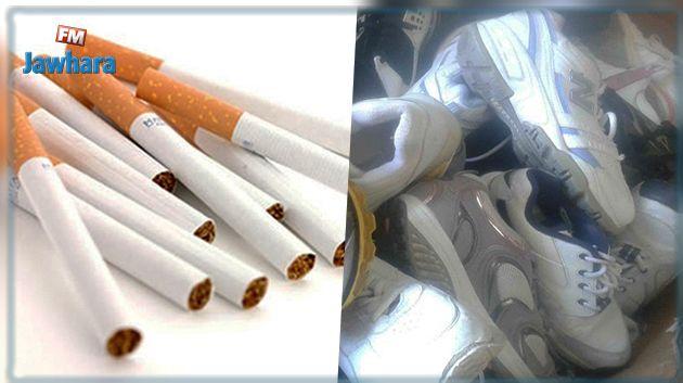 زغوان : حجز أحذية و سجائر مجهولة المصدر