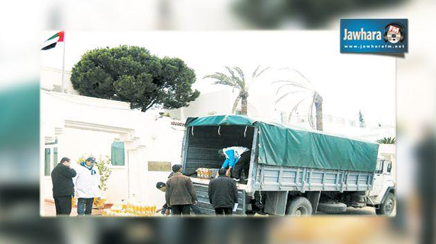 الإمارات تقدم مساعدات عاجلة للمتضررين موجة البرد تونس %D8%A7%D9%84%D8%A5%D