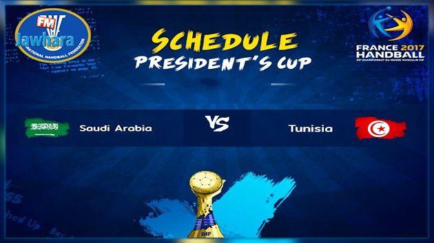 المنتخب التونسي يختتم المونديال بمواجهة نظيره السعودي