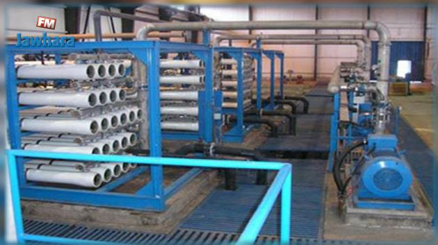 مدنين : انطلاق تشغيل محطة تحلية المياه ببني خداش