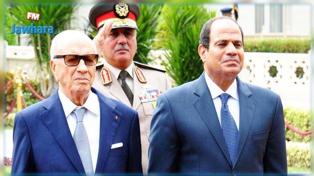 رئيس الجمهورية يوجه برقية تعزية للرئيس المصري