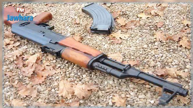 إيقاف شخص بالمنطقة الحدودية العازلة بالذهيبة وبحوزته سلاح
