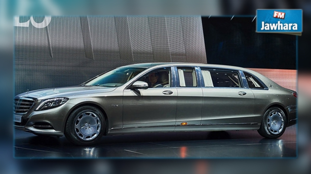 maybach s600 pullman le nouveau n de mercedes 500 000. Black Bedroom Furniture Sets. Home Design Ideas