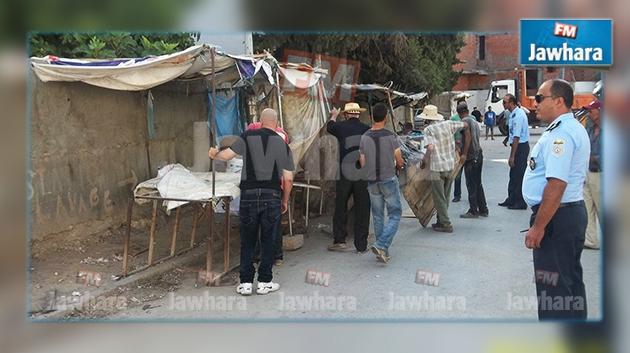 Manouba 40 kiosques anarchiques d molis - Grille indiciaire chef de police municipale ...