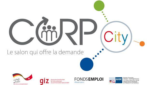 Corp city le premier salon de l emploi inverse en tunisie se tiendra le 25 f vrier 2016 au - Salon de l emploi palais des congres ...