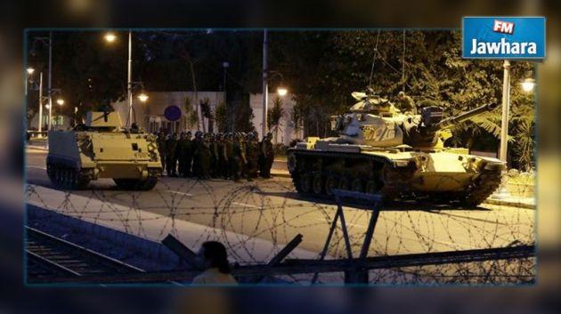 Le coup d'état en image — Turquie