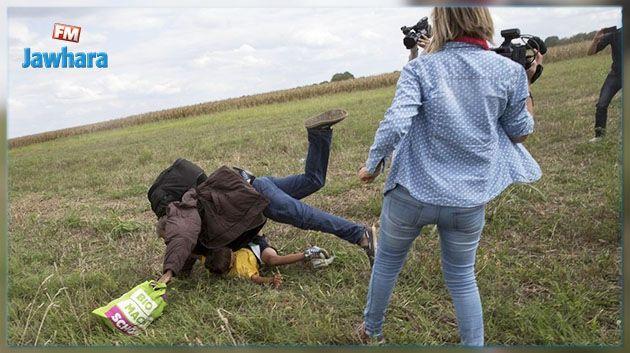 La journaliste hongroise qui avait frappé des migrants est condamnée