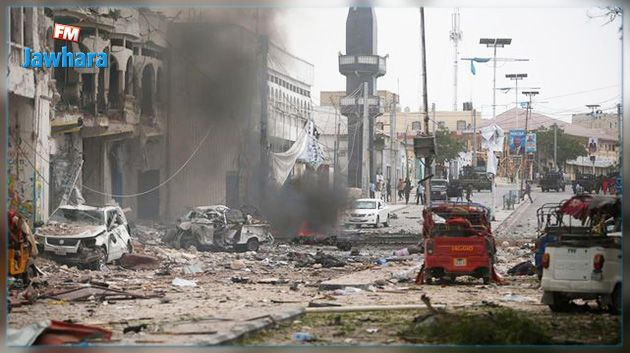 Somalie: double explosion près d'un hôtel à Mogadiscio