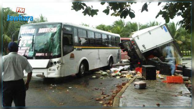Plusieurs touristes perdent la vie dans un accident d'autocar — Mexique