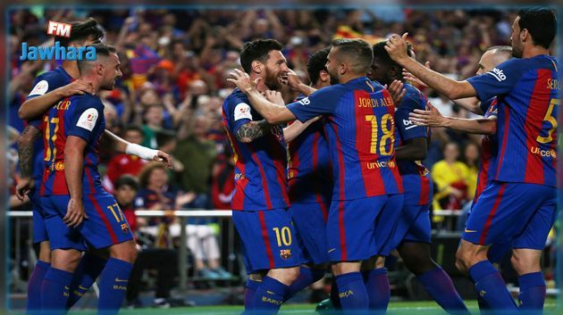 Le Barça est officiellement champion d'Espagne !