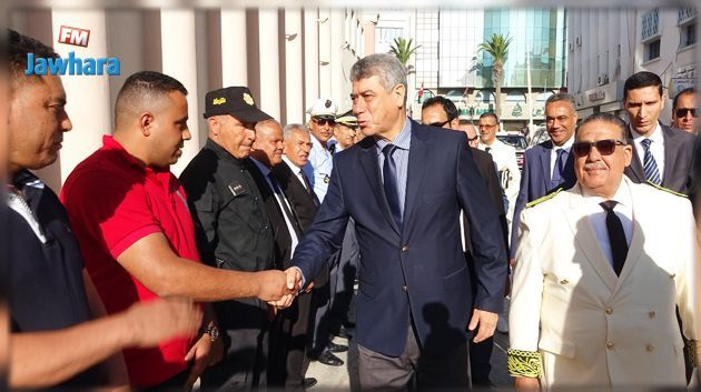 Le ministre de l'Intérieur effectue une visite de travail à Sousse