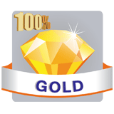 100% Gold