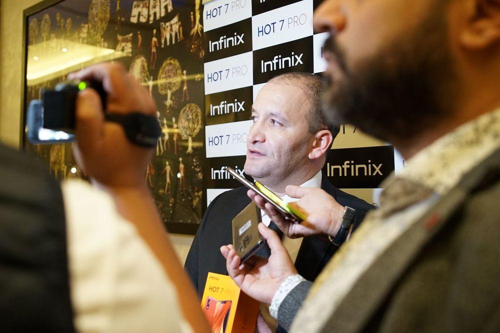 Infinix HOT 7 PRO : الهاتف الذكي رباعي العدسات الذي يخلد