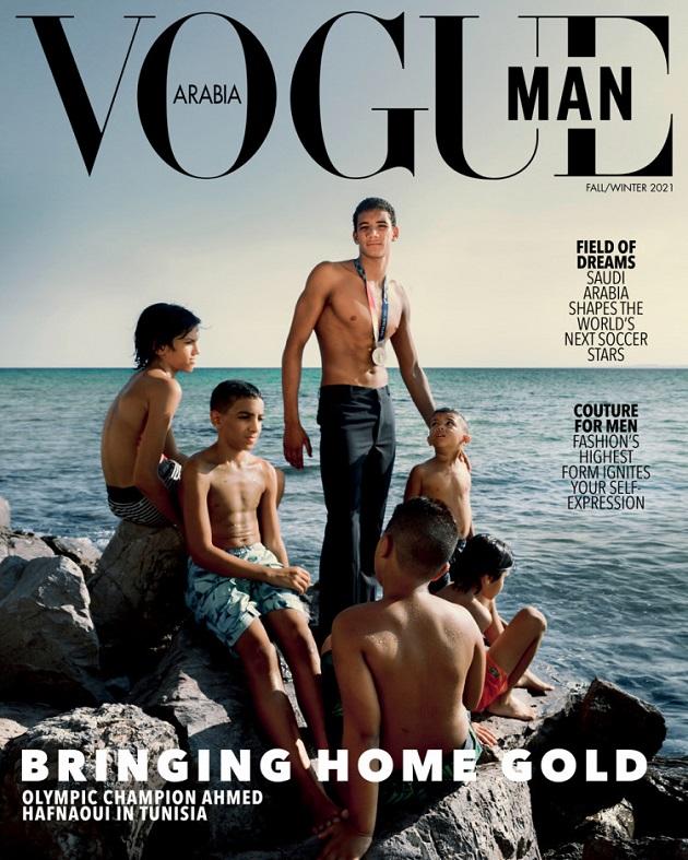 البطل الأولمبي أيّوب الحفناوي يتصدّر غلاف مجلّة عالميّة (صورة)