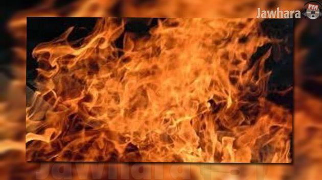 وطني سوسة حريق بمنزل رئيس تحرير جريدة الثورة نيوز 353