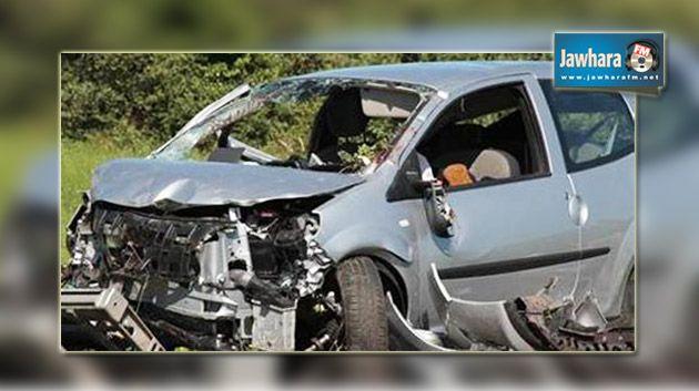 سيدي بوزيد :إصابة أعوان الطلائع انقلاب سيارتهم خلال مطاردة 353