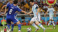 صور مباراة الأرجنتين و البوسنة و الهرسك