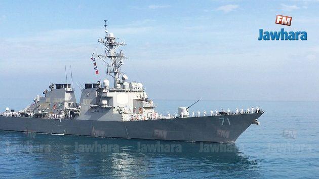 أول عرض عسكري بحري مشترك بين تونس و 11 دولة