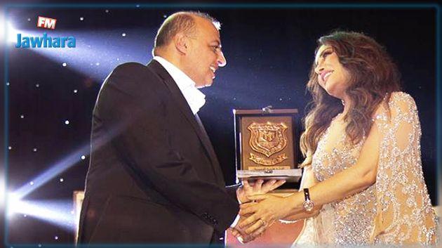 تكريم لطيفة العرفاوي في الأردن (صور وفيديو)