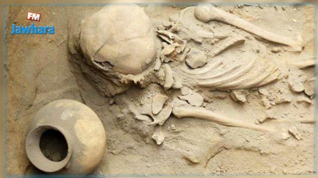 العثور على هيكلين عظميين عمرهما 3 آلاف عام في بيرو