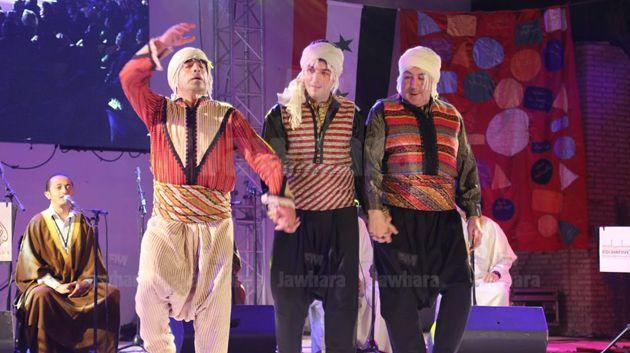 مهرجان روحانيات بنفطة : عرض سلاطين الطرب
