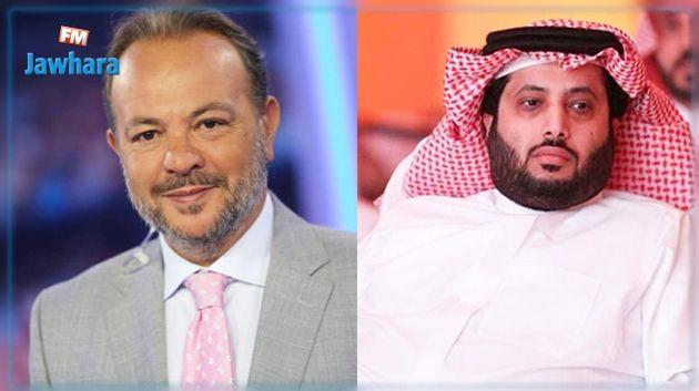 تركي آل شيخ يهاجم الإعلامي التونسي هشام الخلصي