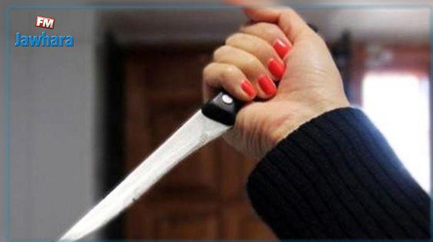 أريانة : امراة تقتل جارها طعنا
