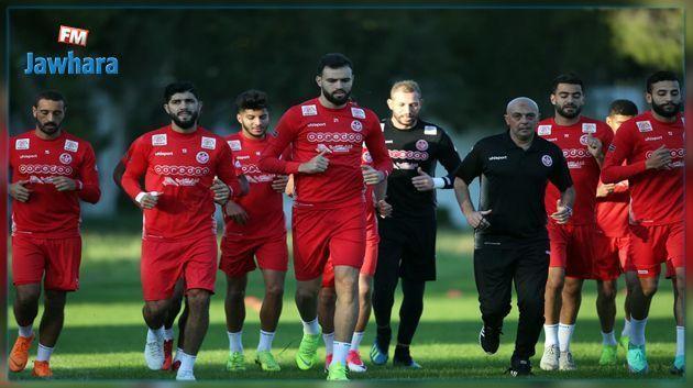 المنتخب الوطني لكرة القدم يسافر اليوم الى مصر