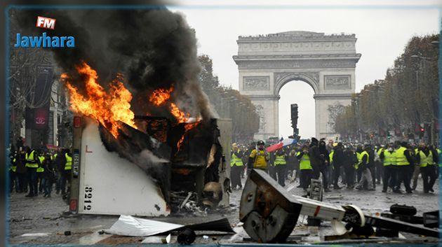 فرنسا ستنشر 89 ألف شرطي وعربات مدرعة استعدادا لإحتجاجات السبت