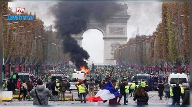 فرنسا تنشر آلاف الأمنيين تأهبا لتجدد موجة الاحتجاجات